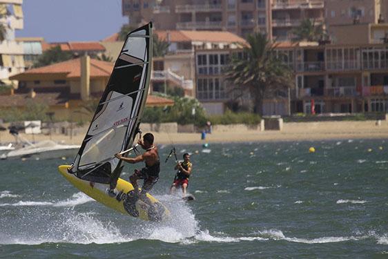 Windsurf la manga dos mares wind
